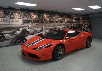 2016 Ferrari 458 Speciale Clear Bra ClearFilm